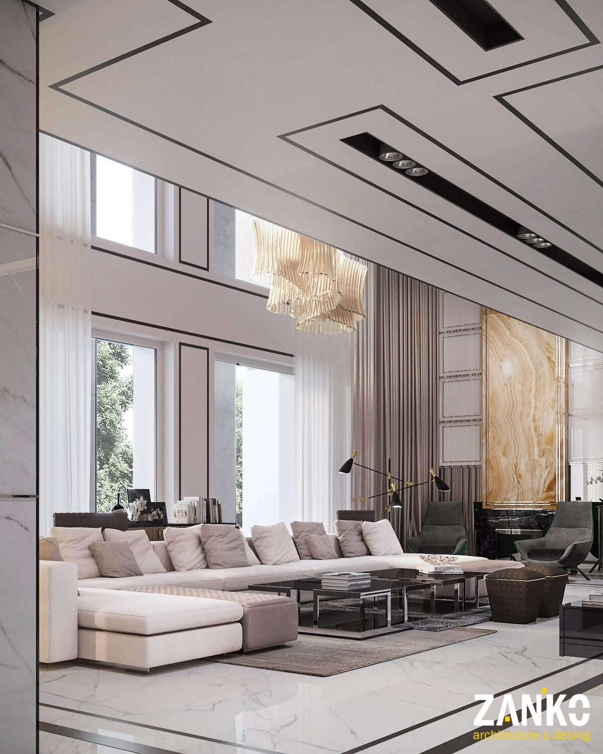 Delante Apartments: Modern Apartment ,Moscow, Russia