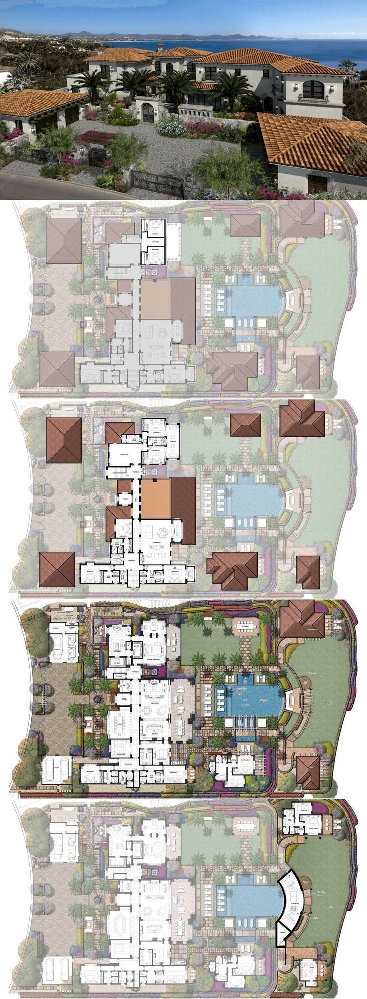 La Romana 4 000 000 In 2020 Luxury House Floor Plans Mansion Floor Plan Sims House Design