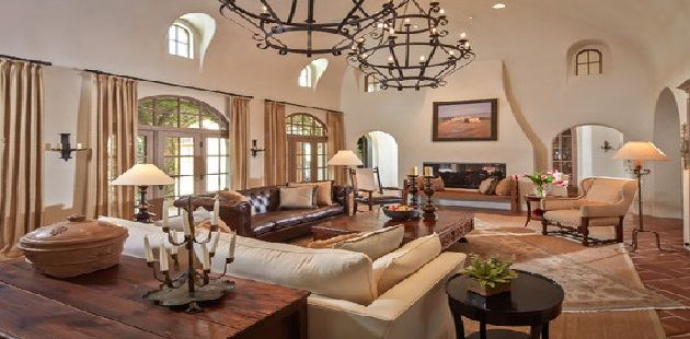 mixing leather and fabric furniture in living room blue beige sofa with loveseat dirt road live