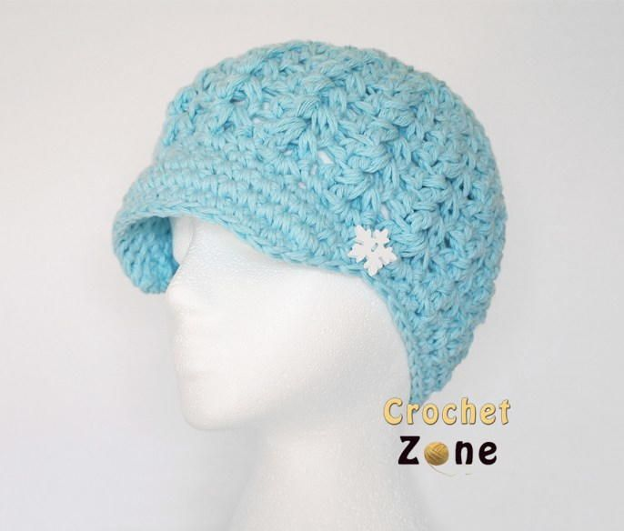 Felicity Newsboy Hat | crochet hats | Pinterest