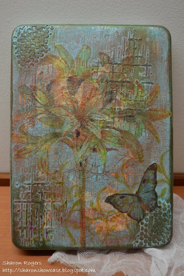 Unruly PaperArts: Altered Gift Tins