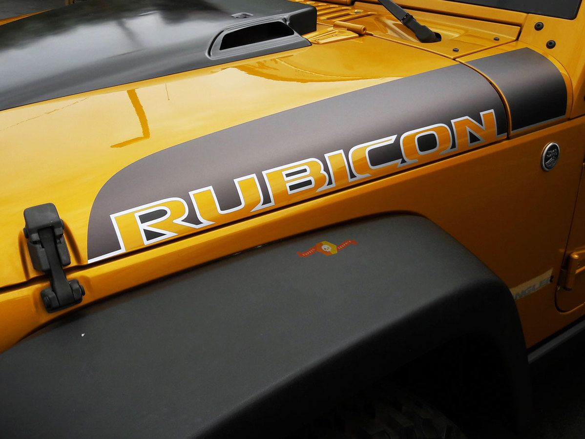 2 Jeep Wrangler Jk Unlimited Rubicon Recon Decal Sticker Jeep