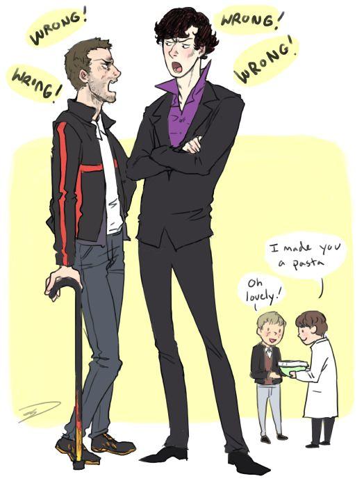 Sherlock House Crossover | The Joker | Sherlock, Sherlock