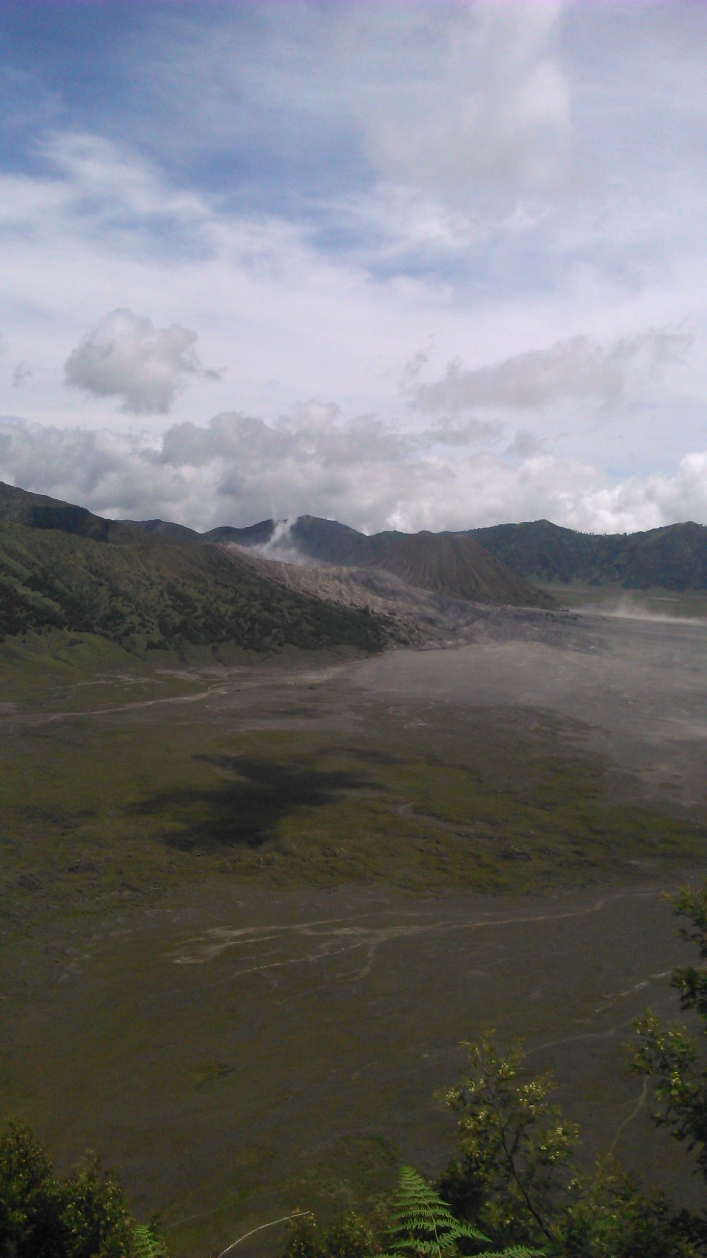 B-29 Hill. This is amazing place to challenge your adrenalin! From this place, we can see Bromo Mount.