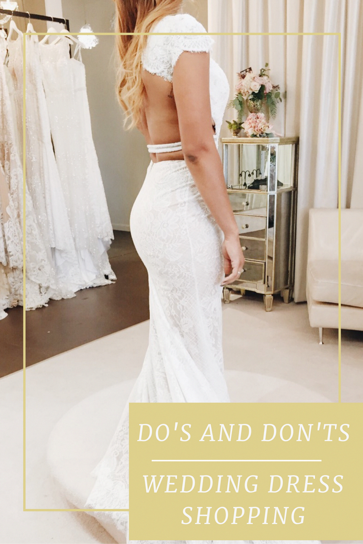 50cda380857f Follow these easy to tips to make wedding dress shopping stress free and  fun!