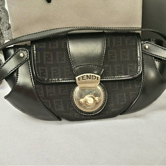 1043311010 Spotted while shopping on Poshmark  Authentic Fendi Borsa Tuc Purse!   poshmark  fashion  shopping  style  FENDI  Handbags