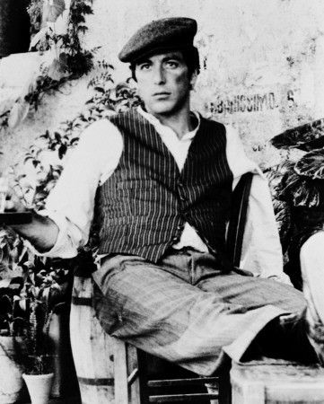 Michael Corleone hiding out in Sicily. By far the sexiest portion of his  character development throughout all three Godfather movies. 839a921df68