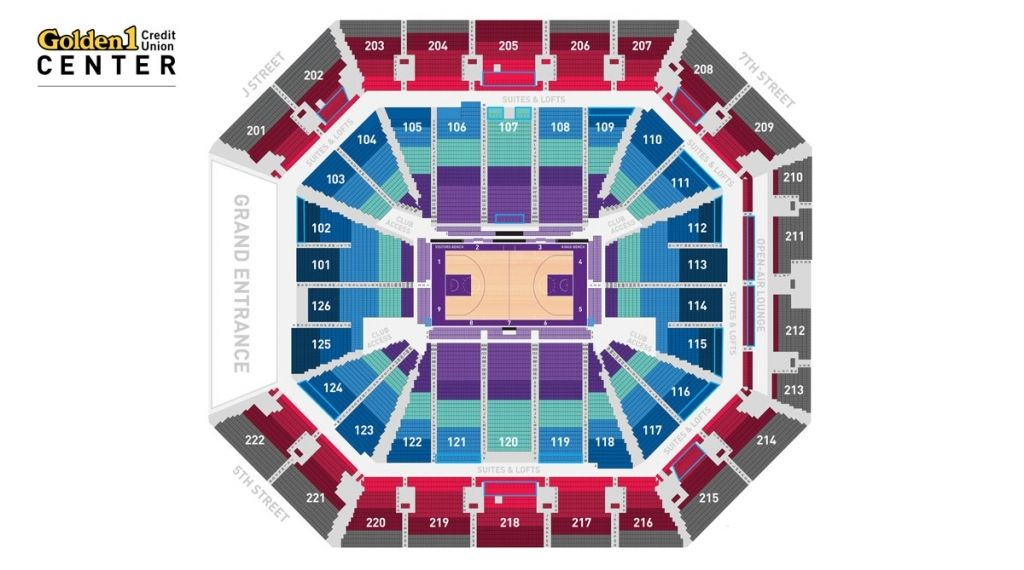 Incredible Golden 1 Center Concert Seating Chart Di 2020