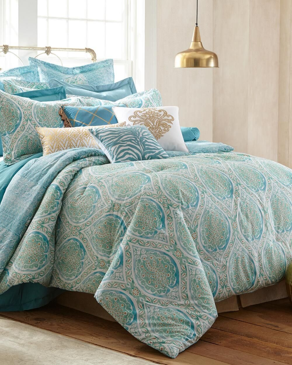 Stein mart bathroom accessories - Exclusively Ours 5 Piece Viceroy Comforter Set Print Comforters Bedding Bed Bath