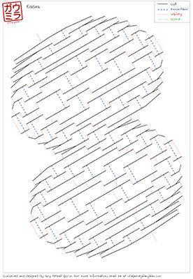 diy template eddies droop kirigami pop up paper sculpture