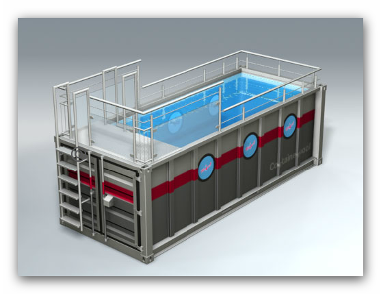 Shipping Container Swimming Pool Container Pool