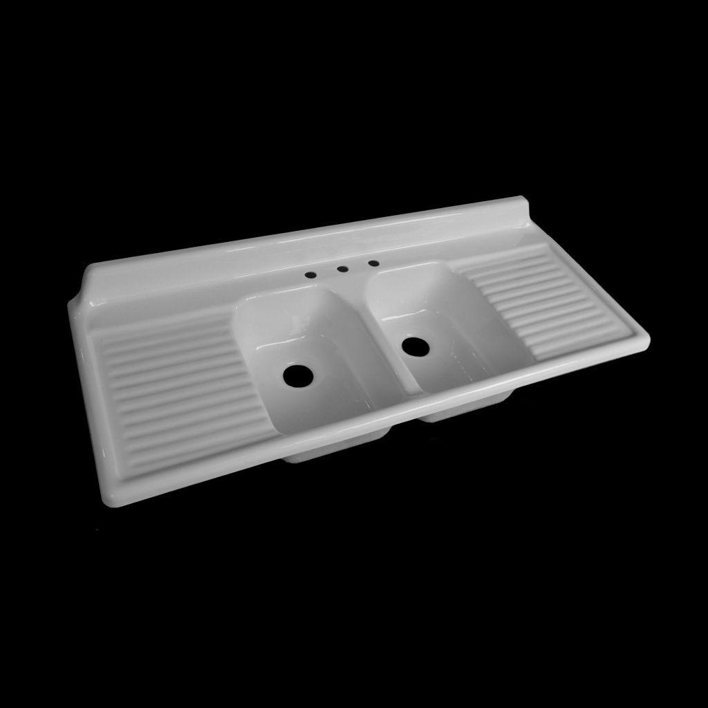Double Bowl Drainboard Sink - Model #DBDW6025 in 2019 ...