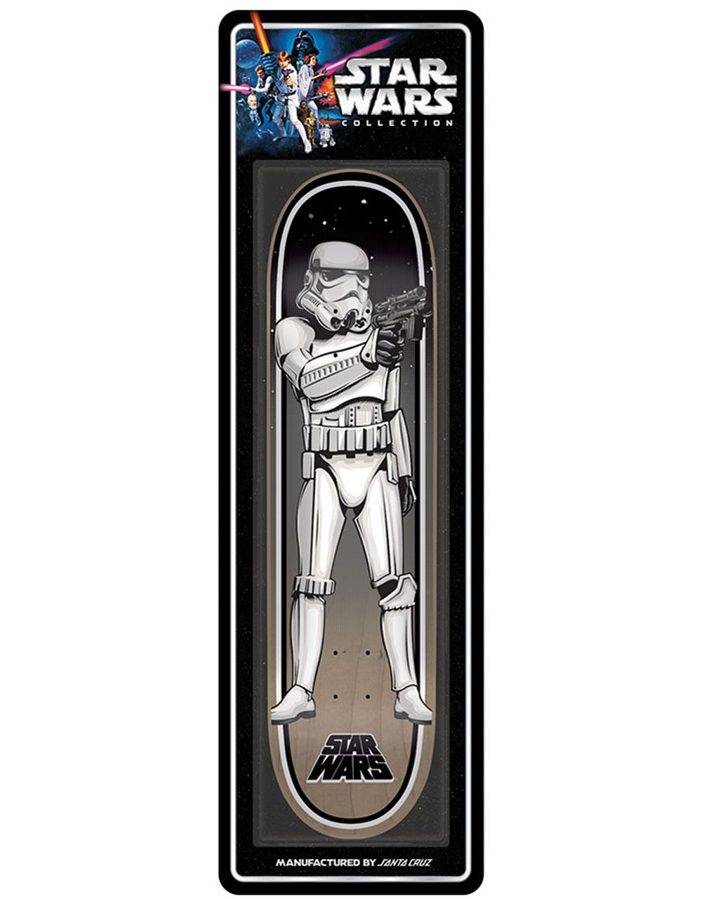 Santa Cruz x Star Wars Stormtrooper Collectible Deck - 8