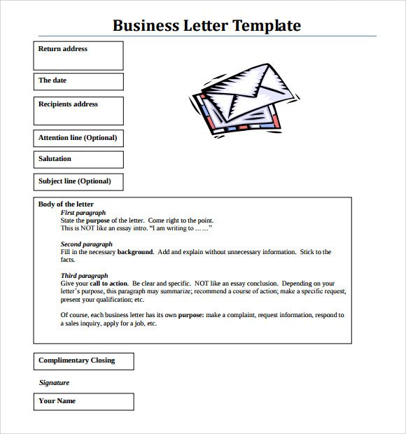 Sample Business Letter Format Free Documents Download Pdf Word