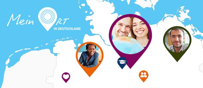 """1.200 Menschen aus 100 Ländern haben am Wettbewerb """"Mein Ort in Deutschland"""" teilgenommen und Geschichten über ihre deutschen Lieblingsorte verraten. Foto: rubinmedia © Goethe-Institut 2016"""