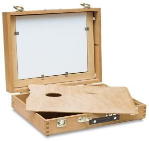 Cigar paint box for plein air painting - Image courtesy of Blick Art Materials