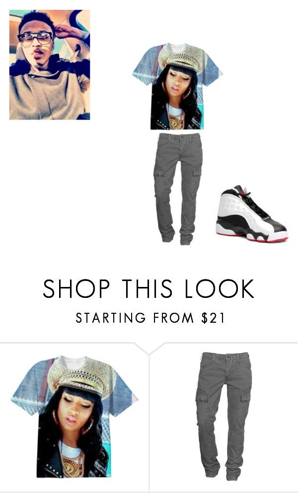 """WHAT HAPPENING \\ ANTHONY"" by qveenbaetakeover on Polyvore featuring J Brand and NIKE"