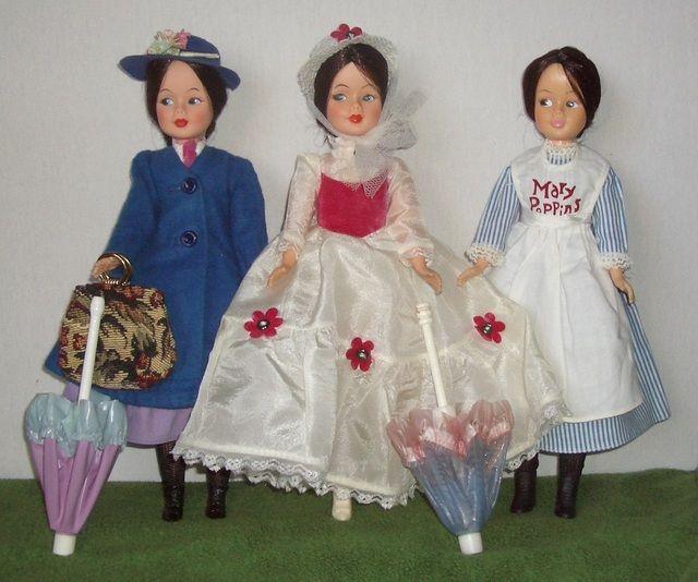 Mary Poppins Bambola Horseman Vintage Doll Bambole E Accessori