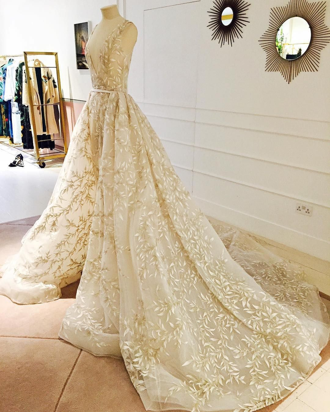 As @modaoperandi says, this @paolo_sebastian #couture gown gives ...