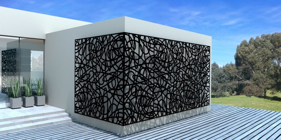 Metal Architectural Panels Decorative Screen