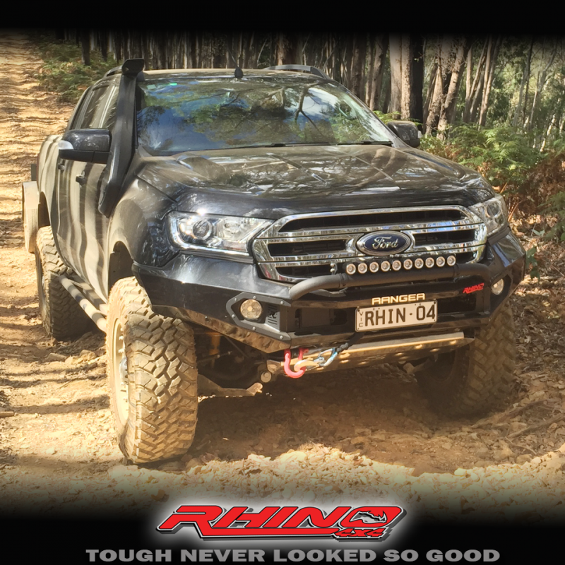 Ford Ranger Px3 Rhino 4x4 Front Bull Bar Xl Xls Xlt Wildtrak