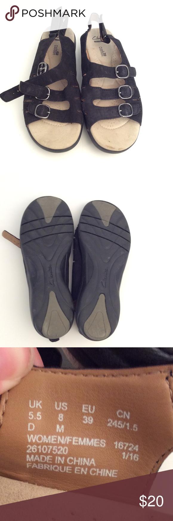 Sandale Damen Clarks Gr. 39,5