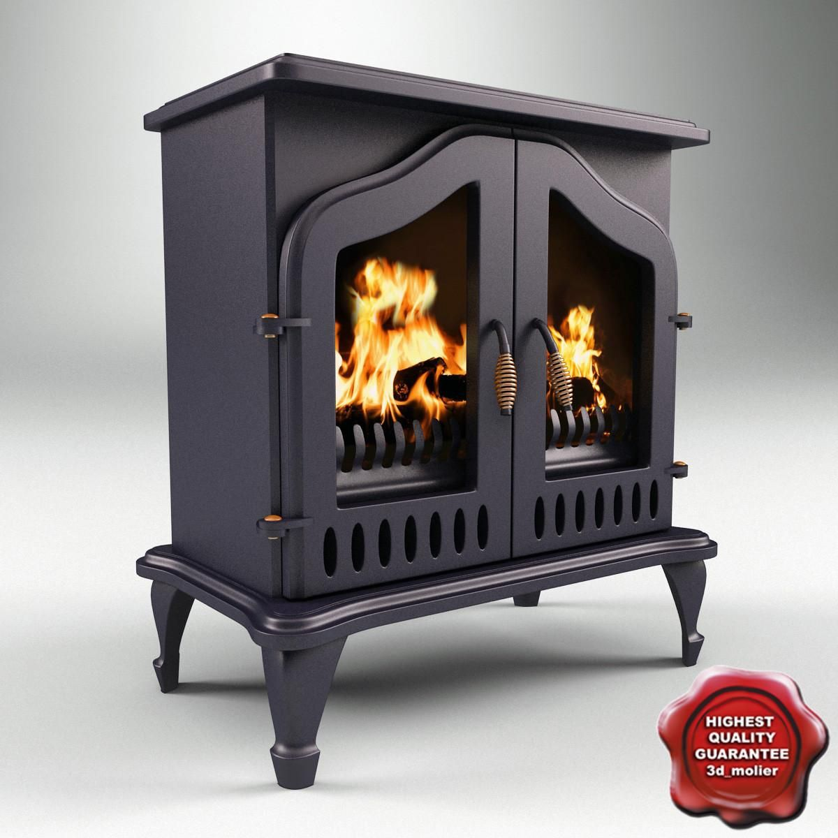 Electric Fireplace 3D Model #AD ,#Electric#Fireplace#Model