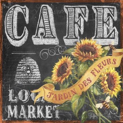 Chalkboard Art - Geoff Allen - Cafe