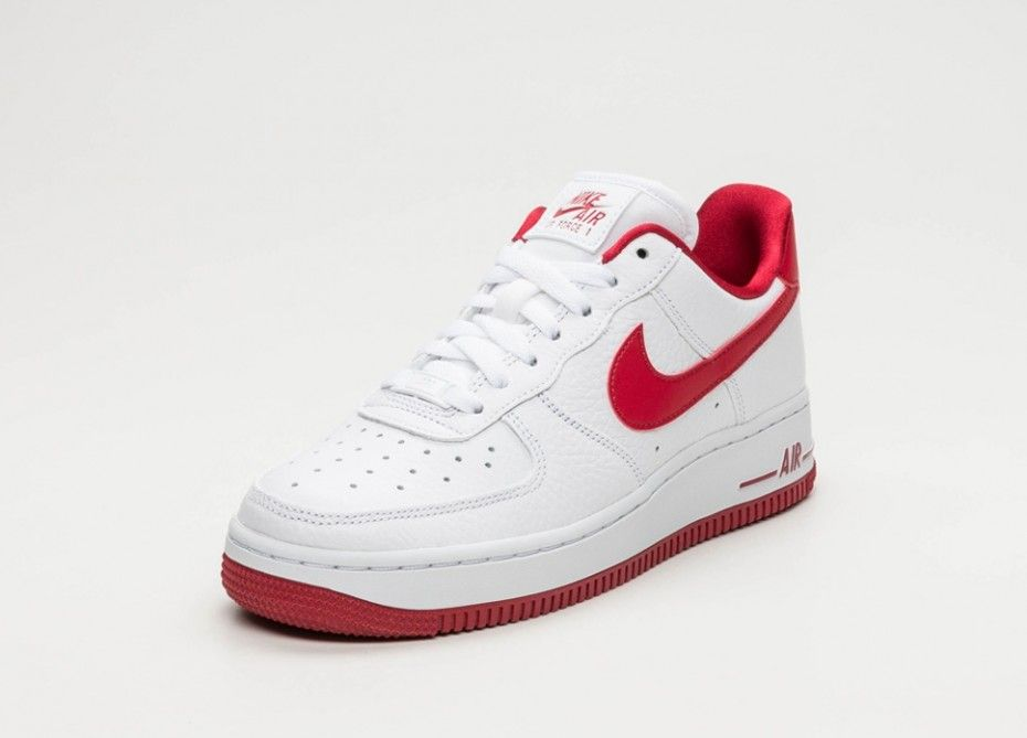 air force 1 rouge blanche
