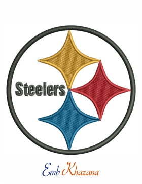 Pittsburgh Steelers Logo Embroidery Design Pittsburgh Steelers Logo Embroidery Logo Pittsburgh Steelers