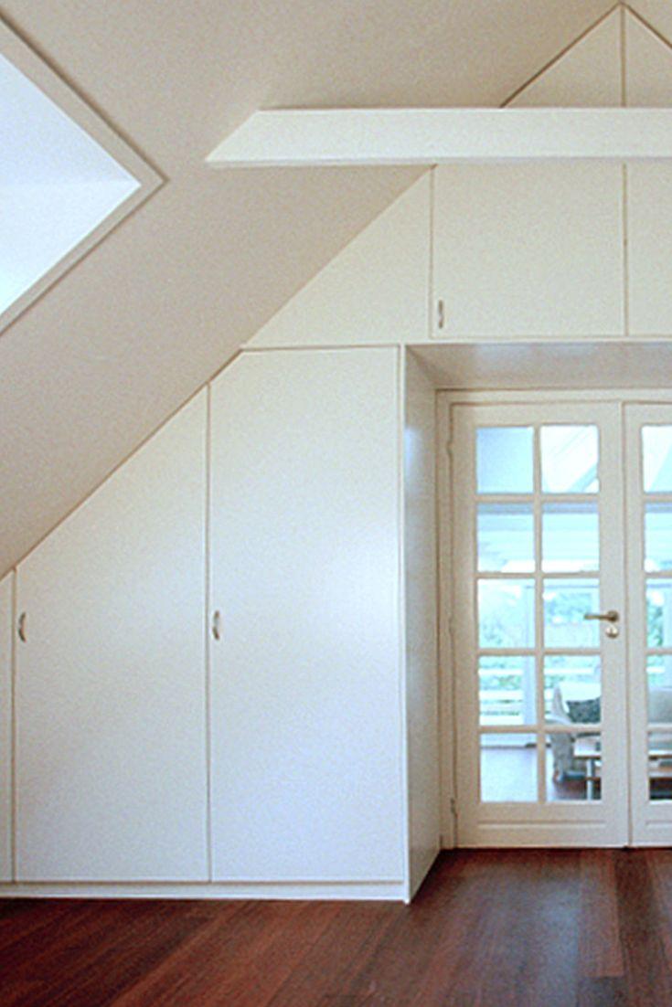 indbygget skab Indbygget skab på specialmål bygget til kip | Walk in.. Office  indbygget skab