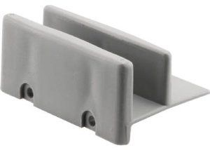 Slide Co 193660 Gray Shower Door Bottom Hook Guide 1 2 X3 By Slide Co 6 99 Gray Shower Door Shower Doors Shower Door Handles Sliding Shower Door