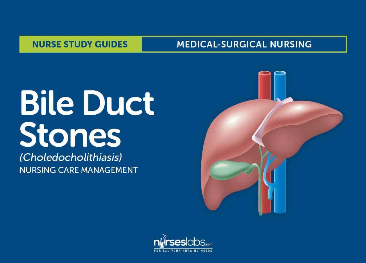 Bile Duct Stones Choledocholithiasis