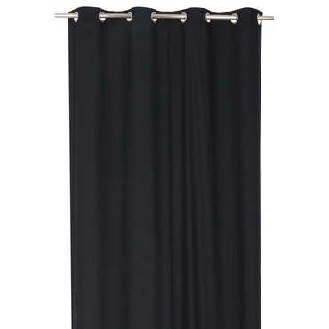 rideau 140x260 cm coloris noir pas cher c est sur