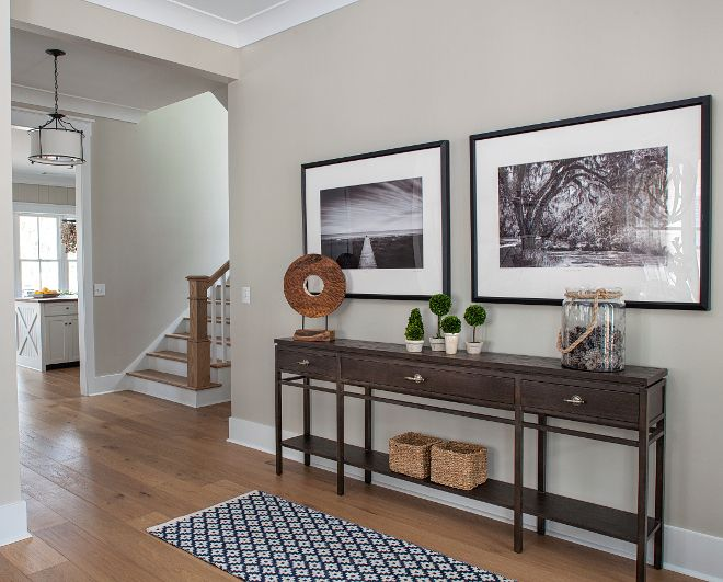 the foyer is painted in one of the most popular paint on most popular interior paint colors id=41456