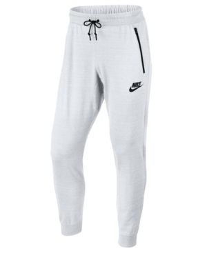 Mens Nike Sportswear Advance 15 Joggers Black//Heather//White Small