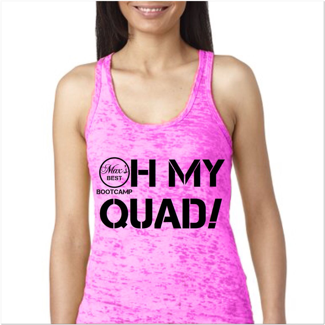 New tank design, coming soon - Oh My Quad! #fitness #gymtank #style