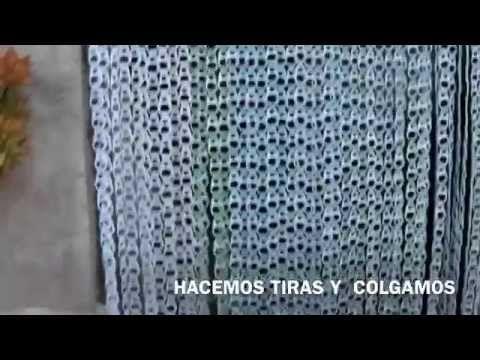 Cortina de anillas youtube creatief met bliklipjes for Anillas de cortinas