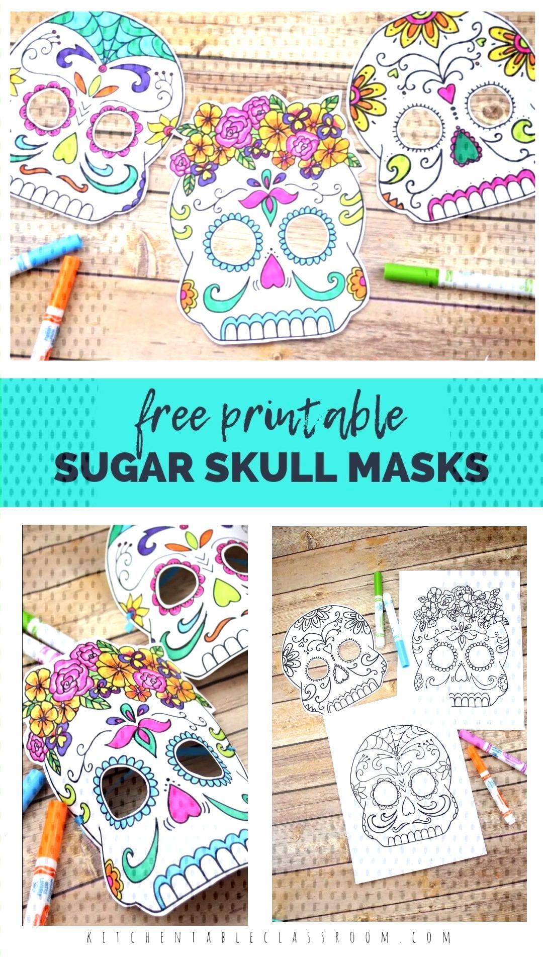 Sugar Skull Masks -  -