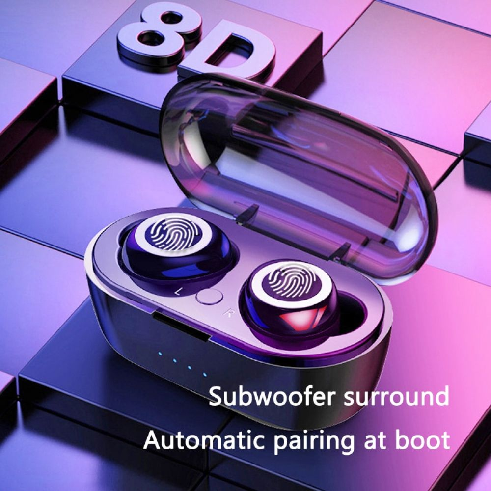 Tws Wireless Bluetooth Earphone Waterproof Sport Headphone 5 0 With Charging Box Touch Control Earphones Build In Mic Headphones Price 21 68 Free S Trong 2020 Cong Nghệ