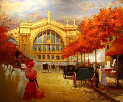 ''Gare du Nord'' Georges Corominas