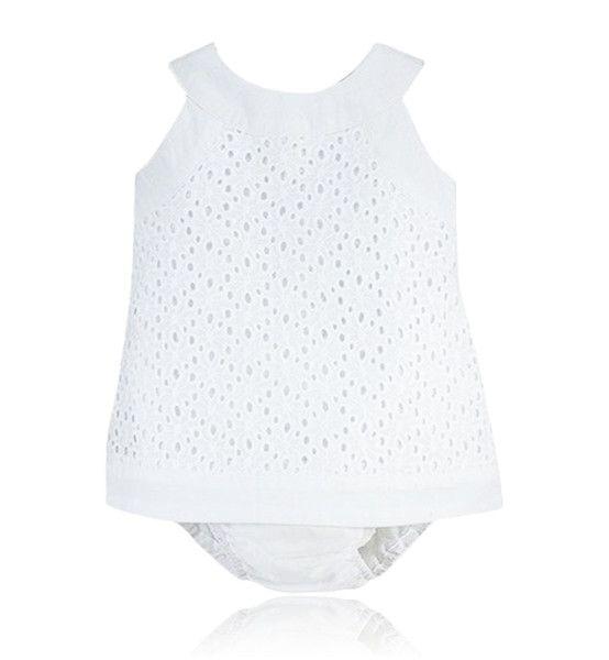 b718d989f24c White two piece dress set