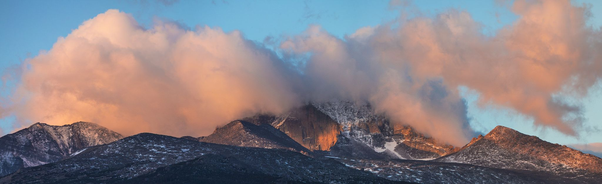 Sunrise from BMVC   Photo by Jacob W. Frank. Rocky Mountain National Park. (pinned by haw-creek.com)