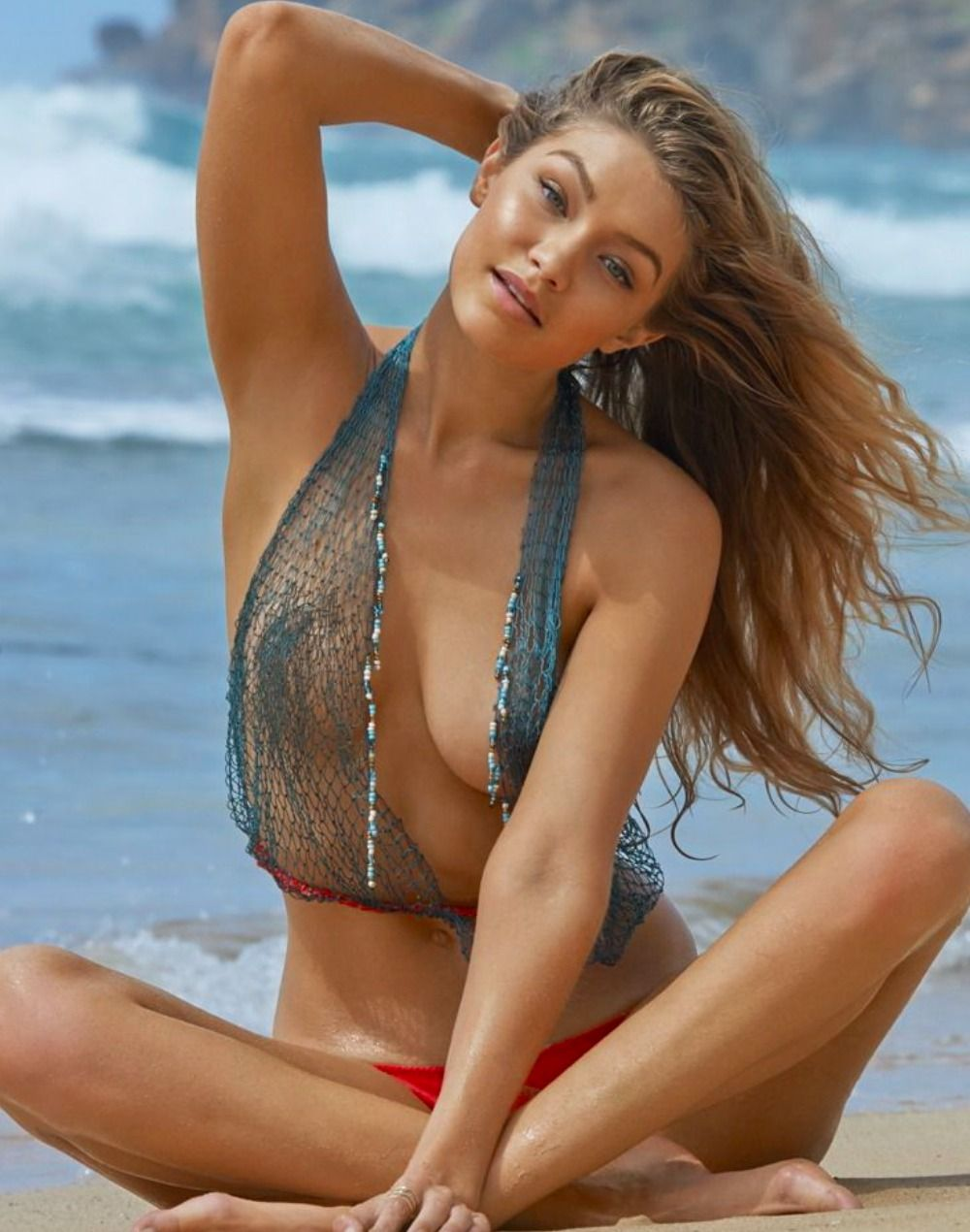 Gentle sports illustrated swimsuit models naked bouncing