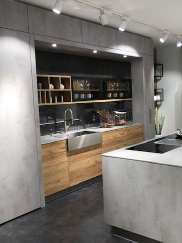 Küche Betonoptik modern