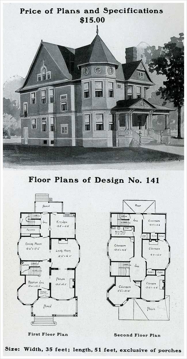 victorian italianate house plans elegant 1909 home plans