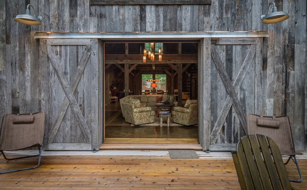 barn-doors-interior-Garage-And-Shed-Beach-with-barn-doors-black ...