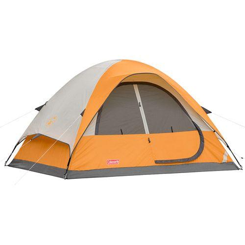 Coleman 9u0027 x 7u0027 Dome Tent 3-Pole Tent 4-  sc 1 st  Pinterest & Coleman 9u0027 x 7u0027 Dome Tent 3-Pole Tent 4-Person Tent Sleeping ...