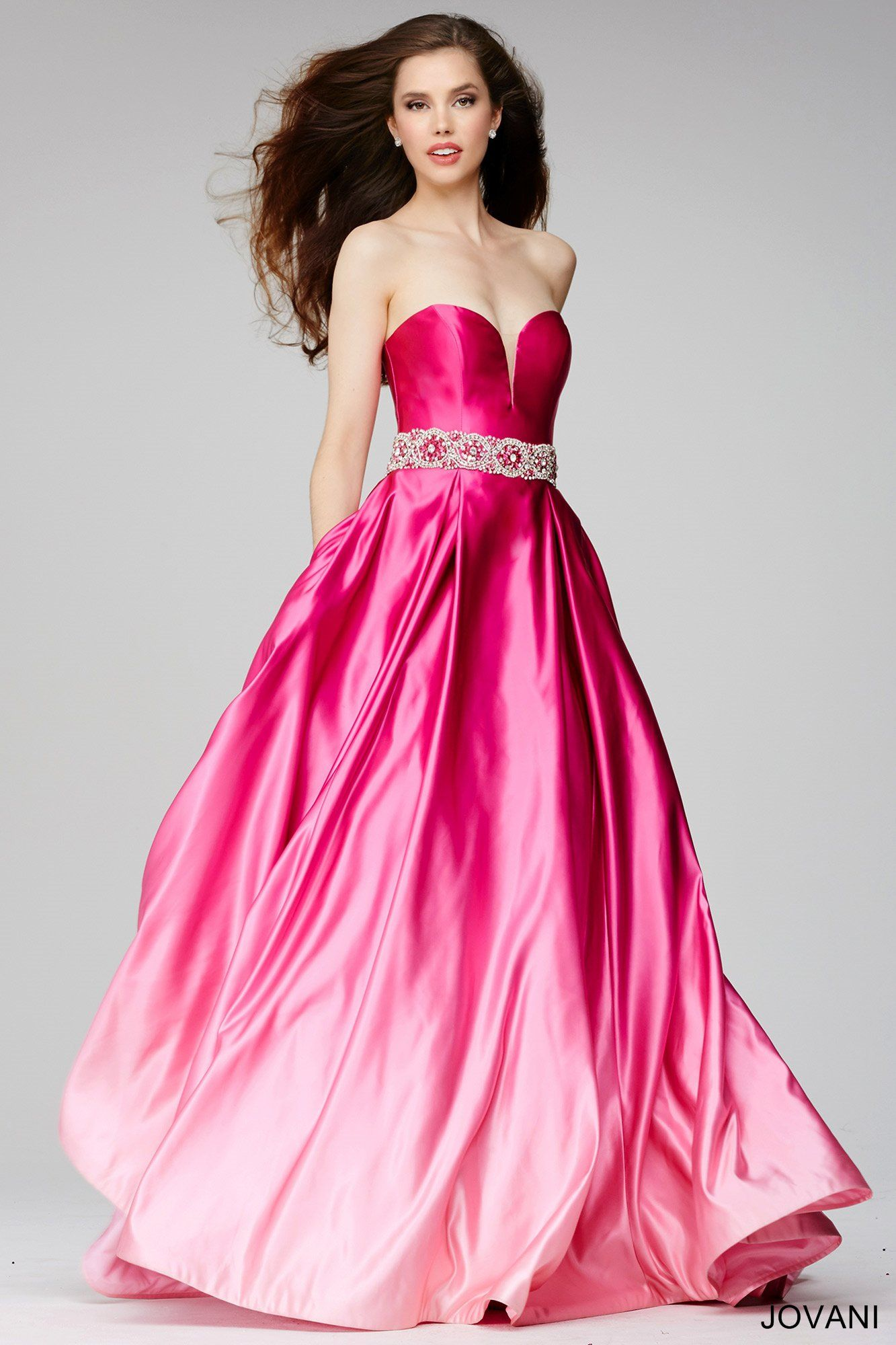 Ombre is making a comeback! #Jovani 29048 | Jovani Prom 2016 ...