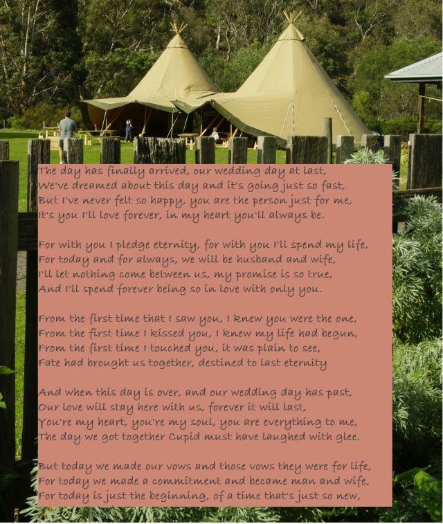 Readings For Weddings: Wedding Love Poem
